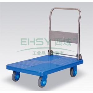 超静音单层折倒式手扶手推车,静音轮,250KG