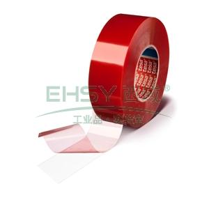 tesa具有卓越粘接力的双面PET基材胶带,透明色,宽度50mm,长度50M