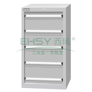 标准型工具柜,H1025ⅹW566ⅹD607,5个抽屉,每屉承重50KG