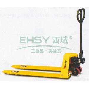 虎力 低放型手动液压搬运车(超低型),载重(kg):1000,货叉尺寸(mm):540*1150,货叉最小/最大高度(mm):36/95