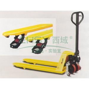 四方向型手动液压搬运车,载重(T):2/1.2,货叉宽度(mm):680