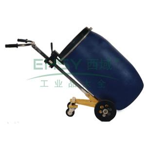 汉利 四轮油桶手推车,额定载荷(kg):450/桶,长*宽*高(mm):1430*630*650
