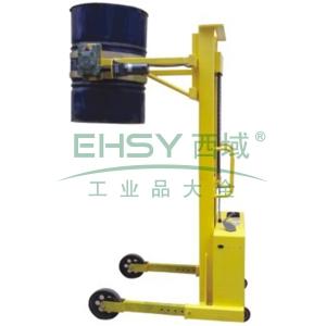 汉利 电动旋转起升油桶搬运车,额定载荷(kg):380/桶,长*宽*高(mm):1430*980*2020