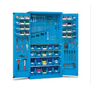 挂板门型置物柜,1000W*600D*1800H(不含零件盒)