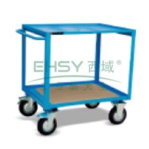 CX型工具车(顶层钢板,底层木质纤维),额定载重(kg):300,台面尺寸(mm):1000*700