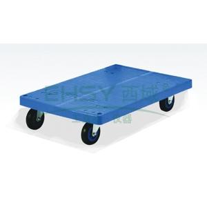 微静音四轮地板车,轮子类型:铁支架轮,承重(kg):150KG