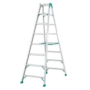 专用翻梯,(人字梯)(双侧宽幅踏步60mm)梯高:2.85m 重量:13.2kg