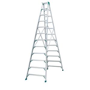专用翻梯,(人字梯)(双侧宽幅踏步60mm)梯高:3.14m 重量:15.0kg