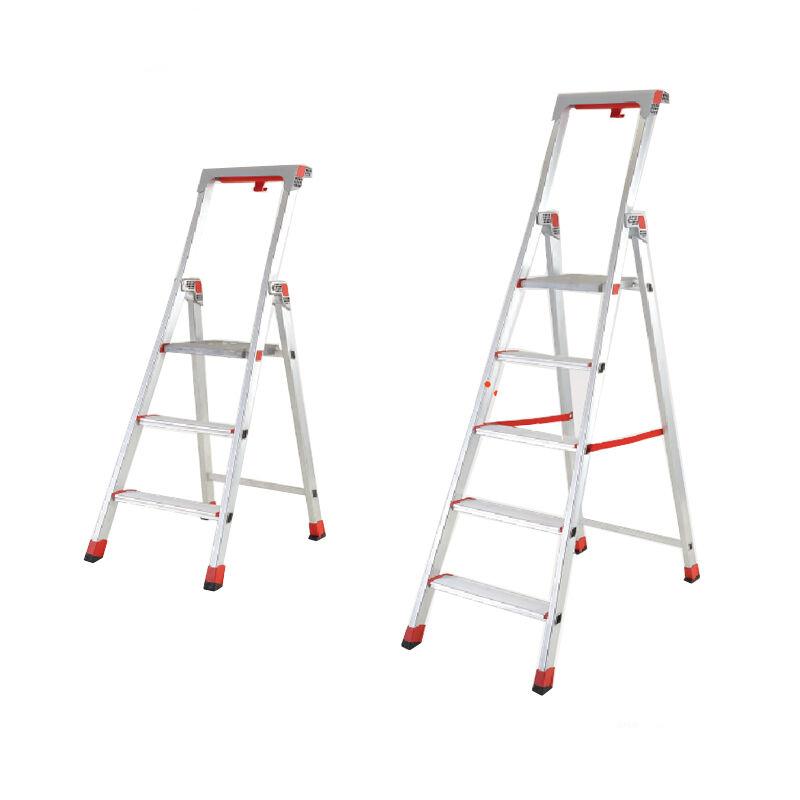 踏面加宽扶手梯台,(带小工具盒及工具插孔)CF MAX 120kg 扶手梯台高度:1.83m 重量:9.1kg