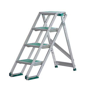 PICA 宽幅梯台 带防滑垫折叠式作业台 CLSMAX 150kg 折叠式作业台高度:1.00m 重量:11.5kg,CLS-4A