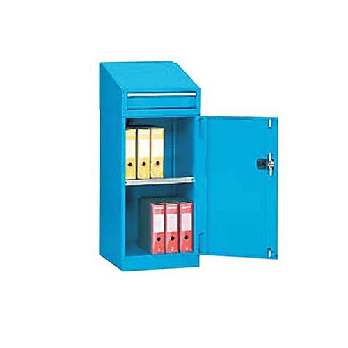 带门工具柜, 564W*600D*1000H 1层层板1个抽屉