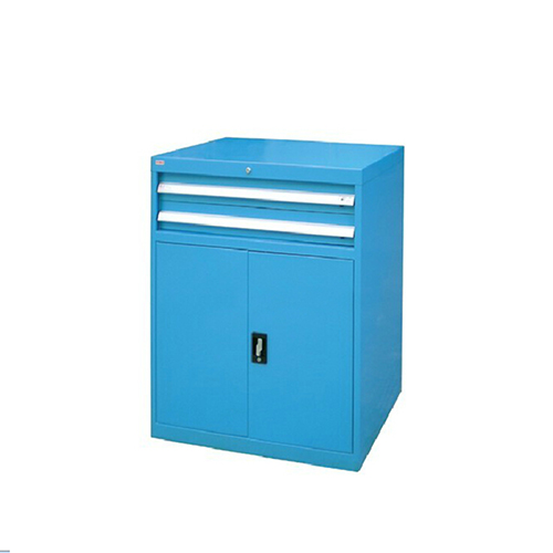 带门工具柜, 723W*600D*1000H 1层层板2个抽屉