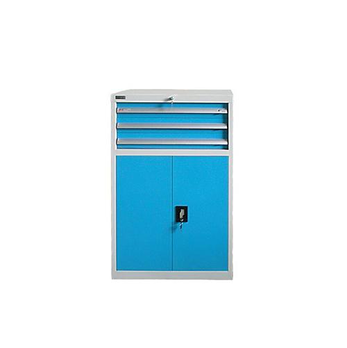 带门工具柜, 723W*572D*1200H 1层层板3个抽屉