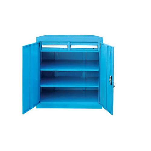 带门工具柜, 820W*600D*1000H 2层层板2个抽屉