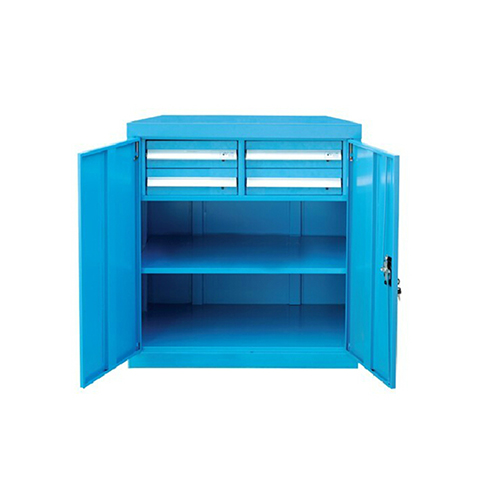 带门工具柜, 820W*600D*1000H 1层层板4个抽屉