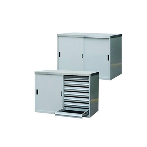 移门工具柜, 1130W*600D*1000H 14个抽屉