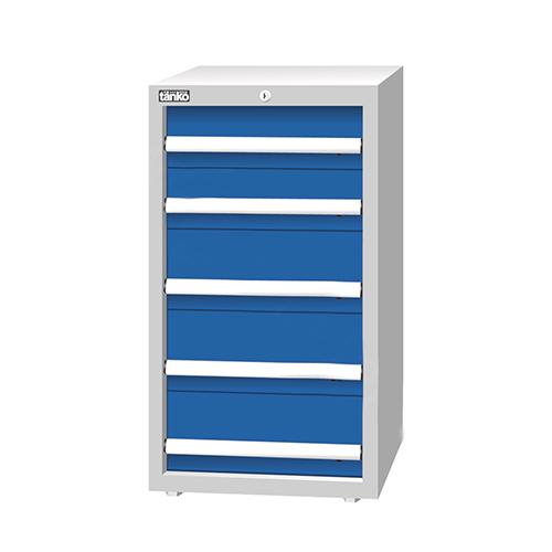 重量型工具柜,H1000ⅹW566ⅹD607,5个抽屉,每屉承重100KG