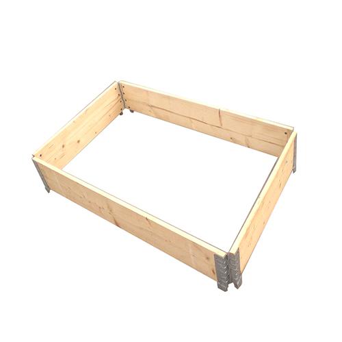 实木对角折叠围板,尺寸(mm):1200×1000×200,板厚(mm):20