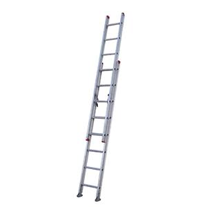 金锚 铝合金延伸梯,踏棍数:20,额定载荷(KG):100,延伸长度(米):5.18,AM42-210II