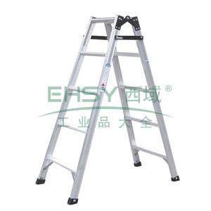 铝合金五阶直马梯,伸长:2.91m,折长:1.46m,自重:6.6kg
