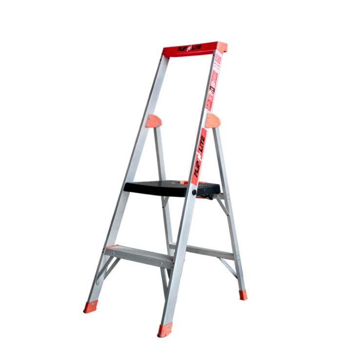 单面平台梯 载重136kg 作业高2570mm 平台宽360x深300mm 2层