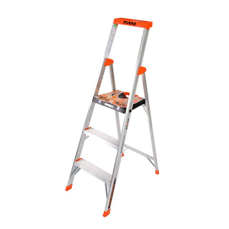 单面平台梯 载重136kg 作业高2870mm 平台宽360x深300mm 3层