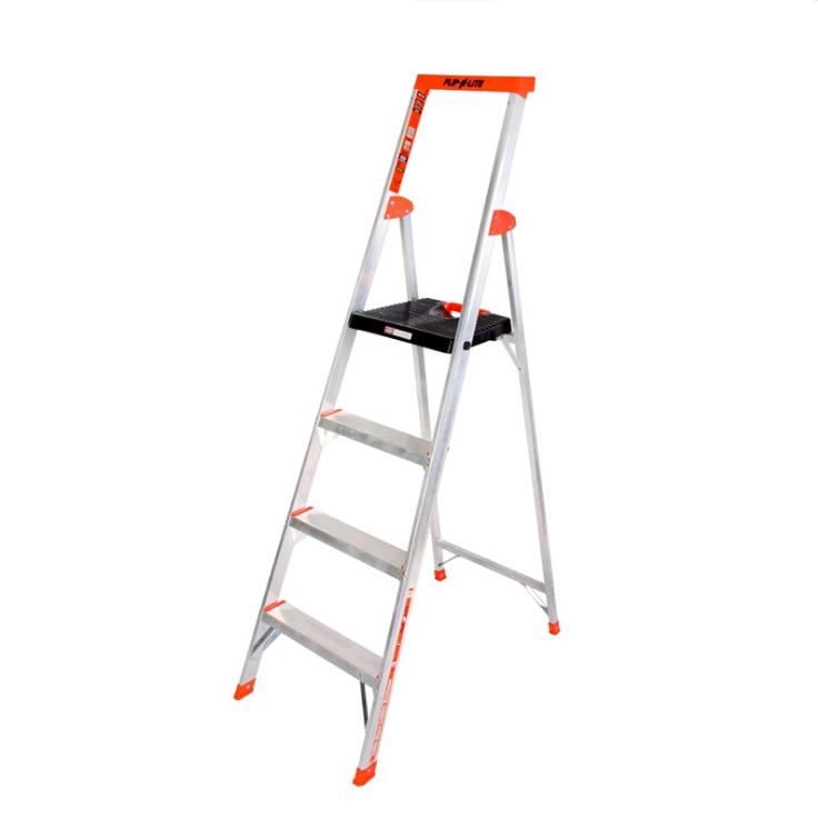 单面平台梯 载重136kg 作业高3160mm 平台宽360x深300mm 4层