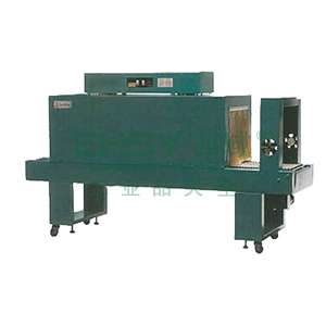 炉道1.8MPE热收缩包装机,收缩炉尺寸 1800×450×350mm 输送载量 30kg