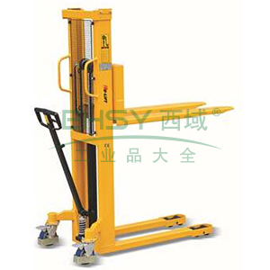 手动液压堆高车 承重:1000kg 货叉长:1150mm 货叉宽:540mm