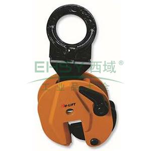 钢板吊夹,额载:2000kg,适用钢板厚度:0-25mm