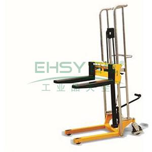 货叉式轻型脚踏式堆高车,400kg,1.5M叉宽可调