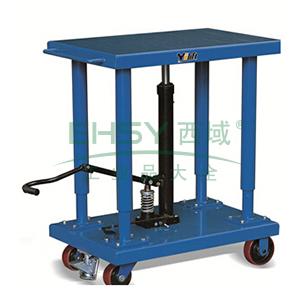 工位平台车载重1.8T,台面尺寸815*1220mm,台面高度940-1500mm