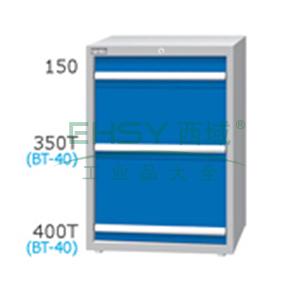 刀具柜,高H*宽W*深D:1000*718*607,单轨抽屉荷重(kg):100,复轨抽屉荷重(kg):200,EB-10031-22N