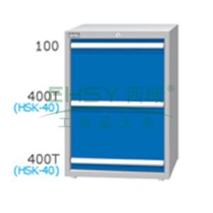 刀具柜,高H*宽W*深D:1000*718*607,单轨抽屉荷重(kg):100,复轨抽屉荷重(kg):200,EB-10032-66N