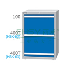 刀具柜,高H*宽W*深D:1000*718*607,单轨抽屉荷重(kg):100,复轨抽屉荷重(kg):200,EB-10032-88N