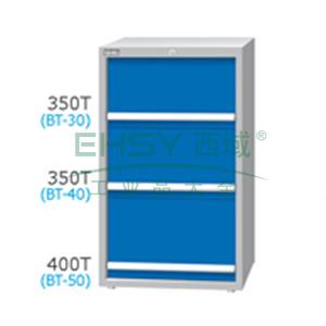 刀具柜,高H*宽W*深D:1200*718*607,单轨抽屉荷重(kg):100,复轨抽屉荷重(kg):200,EB-12031-123N