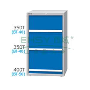 刀具柜,高H*宽W*深D:1200*718*607,单轨抽屉荷重(kg):100,复轨抽屉荷重(kg):200,EB-12031-223N