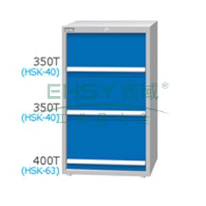 刀具柜,高H*宽W*深D:1200*718*607,单轨抽屉荷重(kg):100,复轨抽屉荷重(kg):200,EB-12031-668N