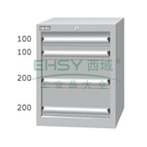标准型工具柜,高H*宽W*深D:725*566*607,抽屉荷重(kg):50,EHA-7041