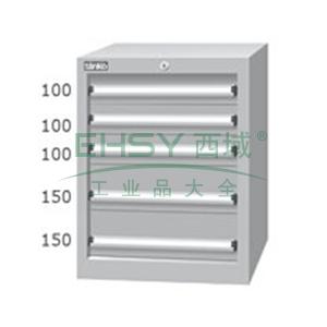 标准型工具柜,高H*宽W*深D:725*566*607,抽屉荷重(kg):50,EHA-7051