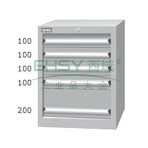 标准型工具柜,高H*宽W*深D:725*566*607,抽屉荷重(kg):50,EHA-7053