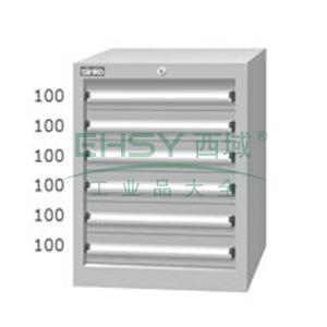 标准型工具柜,高H*宽W*深D:725*566*607,抽屉荷重(kg):50,EHA-7061