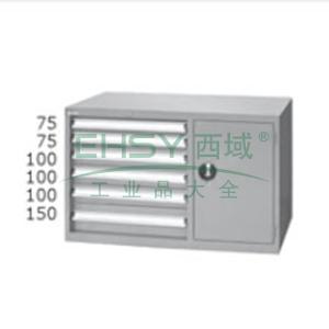 标准型工具柜,高H*宽W*深D:700*1000*515,抽屉荷重(kg):50,ELS-276