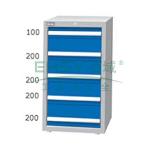 重量型工具柜,高H*宽W*深D:1000*566*607,抽屉荷重(kg):100kg,EA-10051