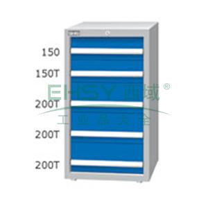 重量型工具柜,高H*宽W*深D:1000*566*607,抽屉荷重(kg):100kg,EA-10052T