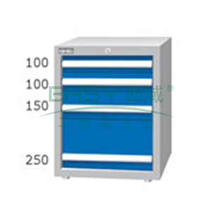 重量型工具柜,高H*宽W*深D:700*566*607,抽屉荷重(kg):100kg,EA7042