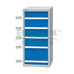 重量型工具柜,高H*宽W*深D:1200*718*759,抽屉荷重(kg):100kg,ED-12052