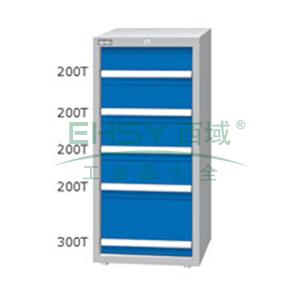 重量型工具柜,高H*宽W*深D:1200*718*759,抽屉荷重(kg):100kg,ED-12052T