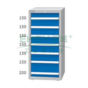 重量型工具柜,高H*宽W*深D:1200*718*759,抽屉荷重(kg):100kg,ED-12071