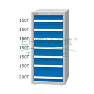 重量型工具柜,高H*宽W*深D:1200*718*759,抽屉荷重(kg):100kg,ED-12071T